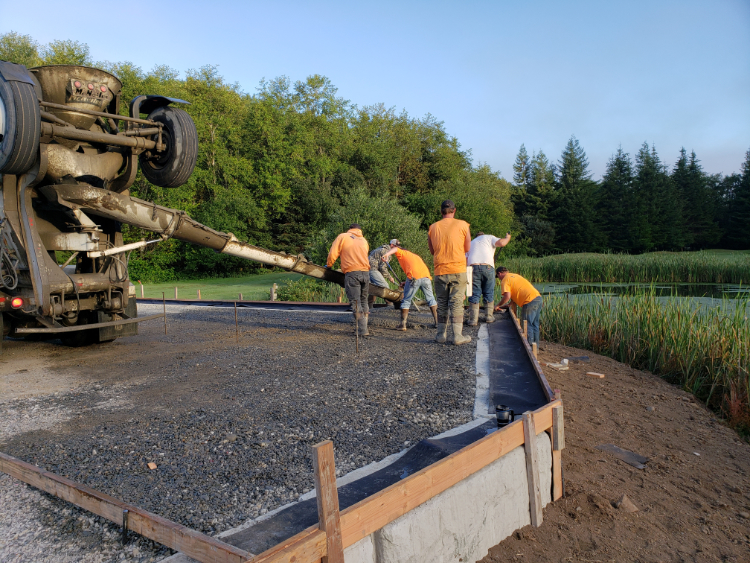 Klinefelter Contracting project for Salmon Run Golf Course, Brookings, OR